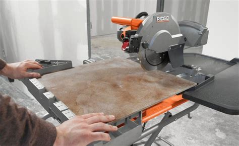 ridgid 10 inch wet tile saw review pro tool reviews