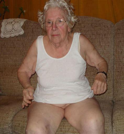 Grandma Licks Her Own Sagging Tittie