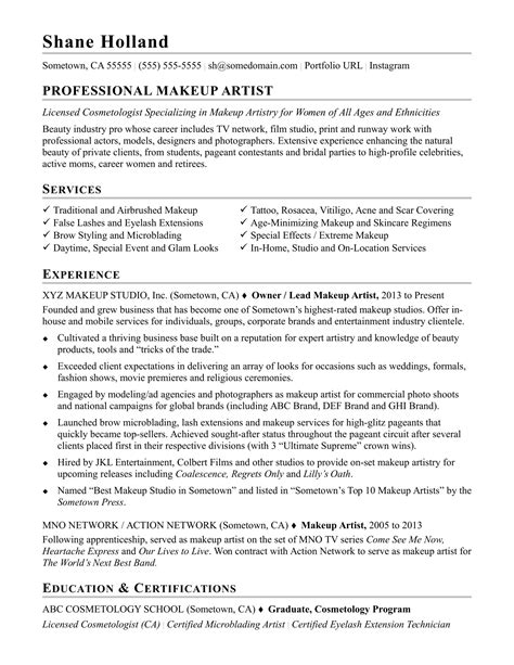 Application Form Resume Sle by Makeup Artist Client Profile Form Onvacations Image