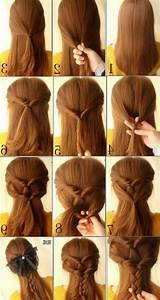 Cute simple hairstyles long hair - Hairstyle for women & man