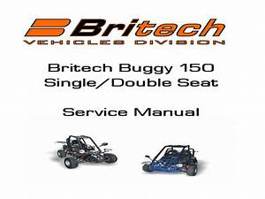 Britech Buggy 150 Service Manual
