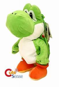 Super Mario Tasche : super mario green yoshi plush doll backpcak nintendo ~ Kayakingforconservation.com Haus und Dekorationen