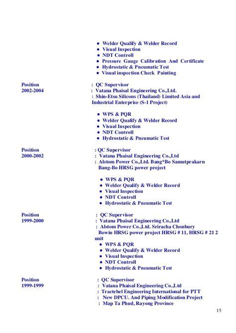 Welding Engineer Resume India by Resume Welding Engineer