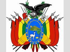 Dibujo De Escudo De Bolivia 2