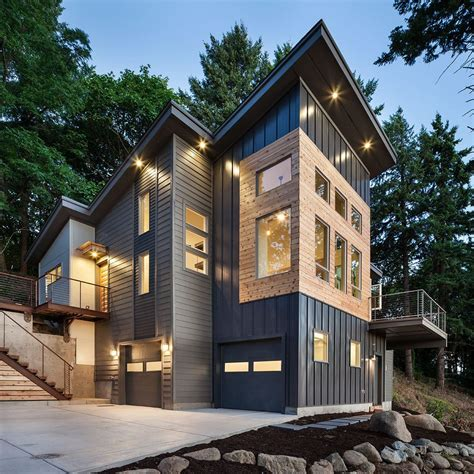 ranch style home interior design metal siding options costs and pros cons steel siding