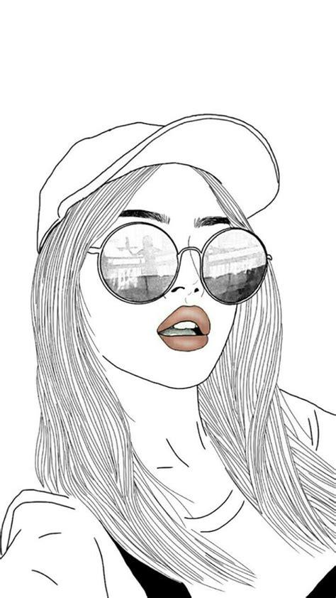 gallery cute drawing girl drawings art gallery
