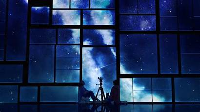 Anime Sky Background Backgrounds Night Wallpapers Freecreatives