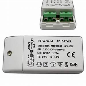Pb Versand : led trafo 0 5 15 watt 12v dc mit netzkabel weiss transformator driver netzteil ebay ~ One.caynefoto.club Haus und Dekorationen