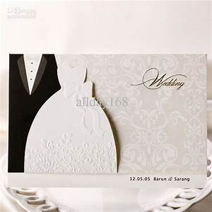 top quality white dress style invitation wedding With best quality wedding invitations online