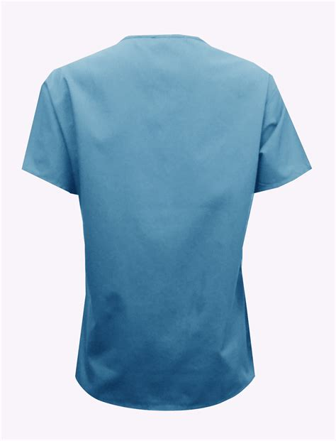bkmds06t ceil blue scrub top