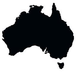 Australia Map Clip Art