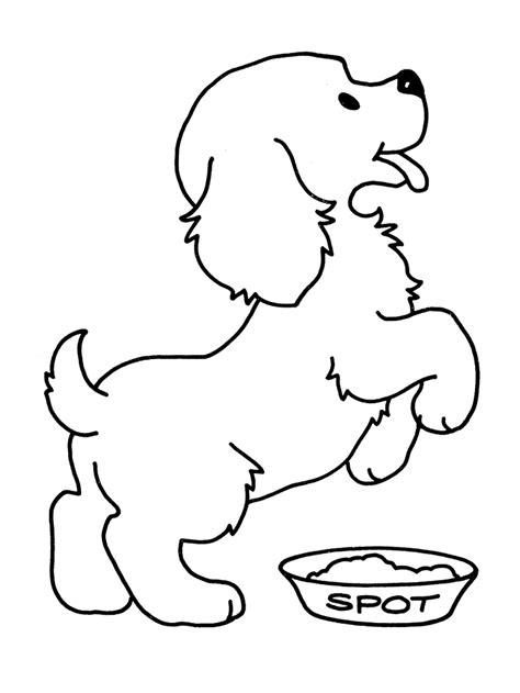 Domme Hond Kleurplaat honden kleurplaten kleurplaat hond