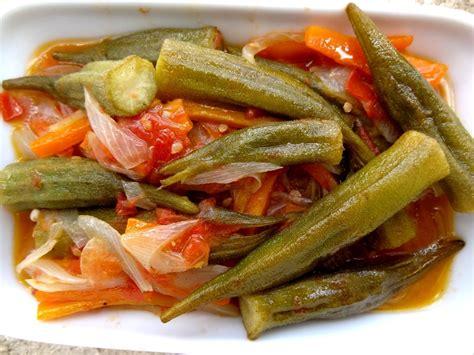 comment cuisiner le gombo recette de la salade aux gombos turquie la tendresse