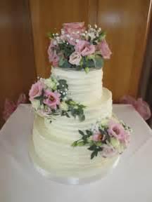3 Tier Wedding Cakes Classic Sugar Flowers