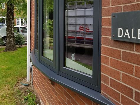 grey designer windows anthracite upvc grey window frames