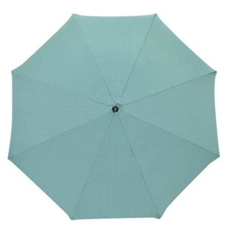 plantation patterns 7 1 2 ft patio umbrella in turquoise