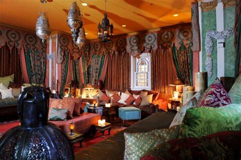 spalnya  marokkanskom stile foto dom mechty