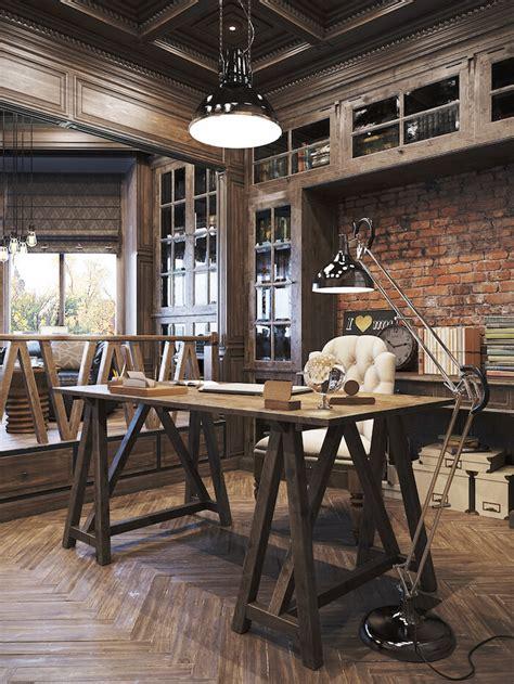 bureau atelier industriel décoration bureau style industriel