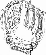 Baseball Glove Clipart Cliparts Gloves Svg Mitt Clipartbest Attribution Forget Link Coloring Don sketch template