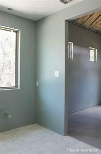 Painted Interior Sherwin Williams Silvermist Shoji