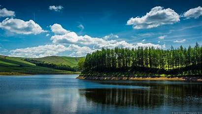 Water Landscapes Nature Lakes Trees Islands Wallpapers