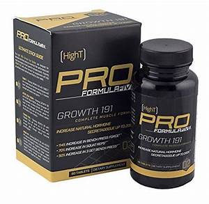High T Pro Formulafive Growth 191 - Bodybuilding Supplement - Gain Muscle Weight
