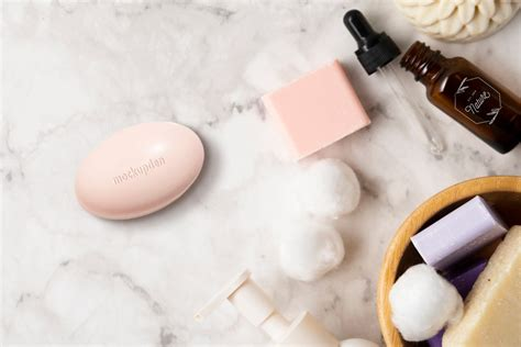 Present your design on this mockup. Free Soap Bar Mockup PSD Template | Mockupden Exclusive