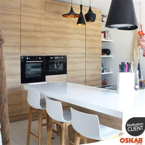 cuisine bois nature et d馗ouverte 95 best images about cuisine équipée ouverte oskab on pastel style and cuisine