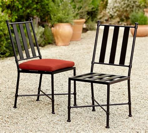redding metal dining chair pottery barn
