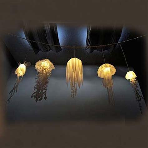 plafonnier cuisine led led le de plafond suspension lustre abat jour méduse