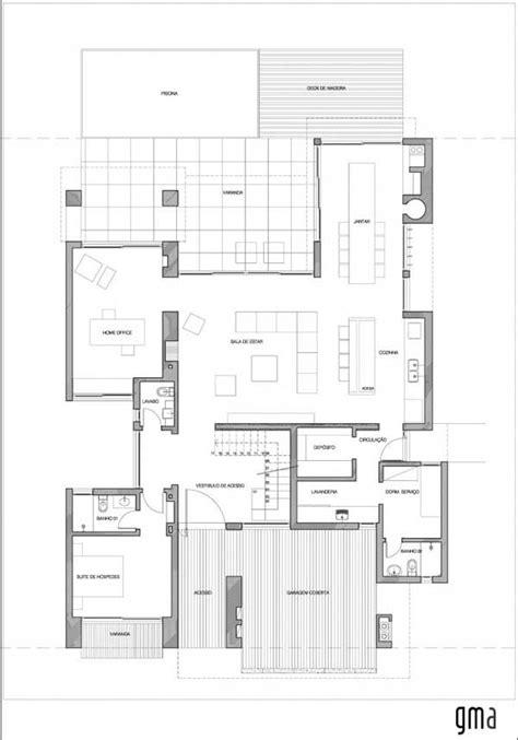 brick home floor plans house plans and design modern house plans brazil