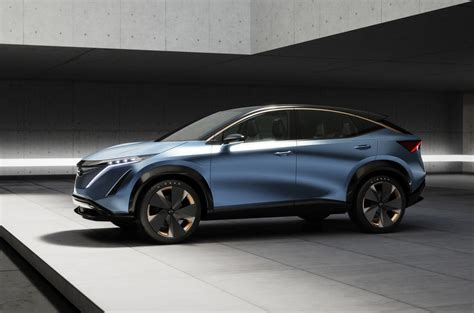 It's nissan's first electric suv and promises up to 310 miles of range and a 394hp performance email: Nissan Ariya EV: production design shown in new patents ...