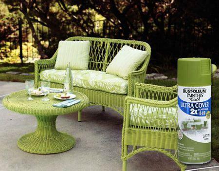 painting wicker furniture ideas  pinterest