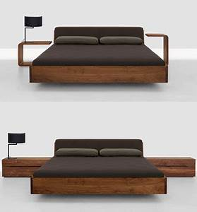 Lit Design Bois : lit design en bois ~ Teatrodelosmanantiales.com Idées de Décoration