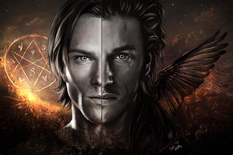 Sam Winchester And Shamsiel- Henry Winchester Jr. By