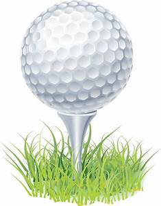 Clip Art Golf Ball On Tee Clipart - Clipart Suggest