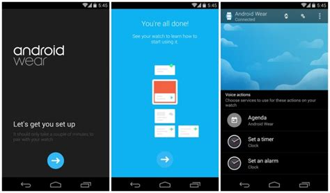 official android wear companion app hits google play