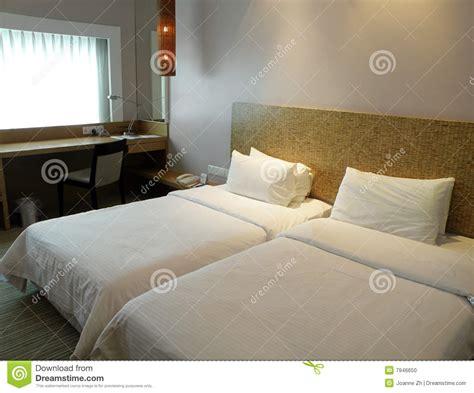 simple hotel room interior stock photo image