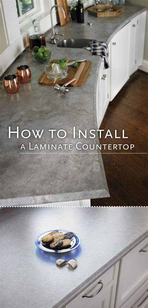 How To Install Bathroom Countertop - 1000 ideas about laminate countertops on