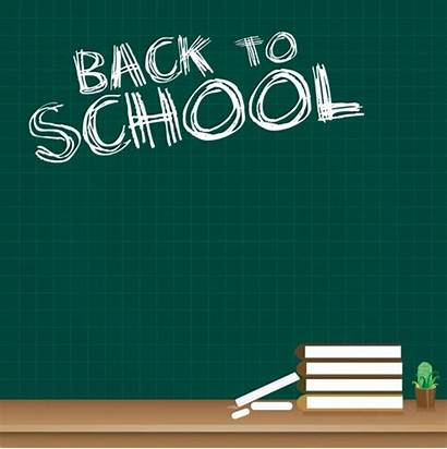 Chalkboard Background Books Icon Vector Texts Graphic