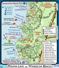 Map Big Island Hawaii Beaches