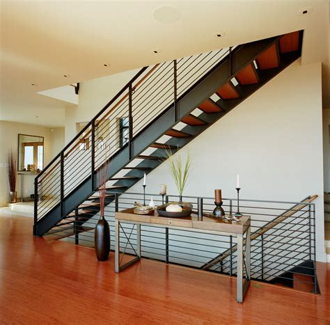 metal stair railings landscape contemporary with path pavers permeable paving beeyoutifullife com