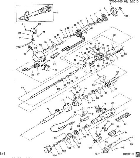 1990 chevy steering column is autos post