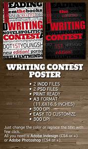 Small Flyer Size Writing Contest Poster Flyer By Opendept Graphicriver