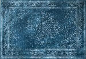 Teppich 240 X 240 : teppich vintage ornament rugged aquablau viskose 170 x 240 cm wohnaccessoires teppiche ~ Bigdaddyawards.com Haus und Dekorationen