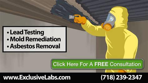 asbestos testing asbestos  mold removal westchester