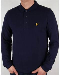39b940f26 Polo Lyle And Scott. lyle and scott long sleeve polo shirt navy mens ...