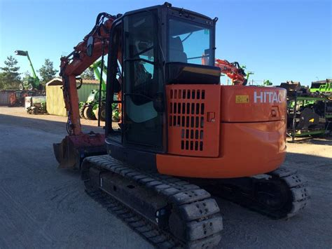 hitachi zx85usb excavators 7t 12t construction equipment used equipment hitachi