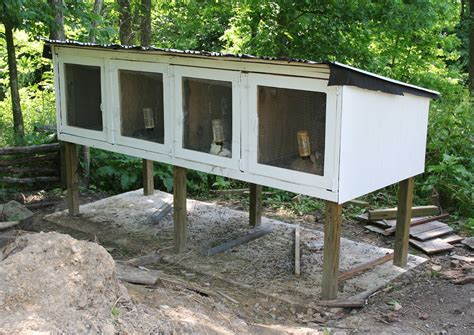 Diy Rabbit Hutch Outdoor