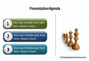 PowerPoint Agenda from CEO pack